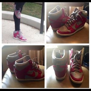 Nike Wedged High Tops